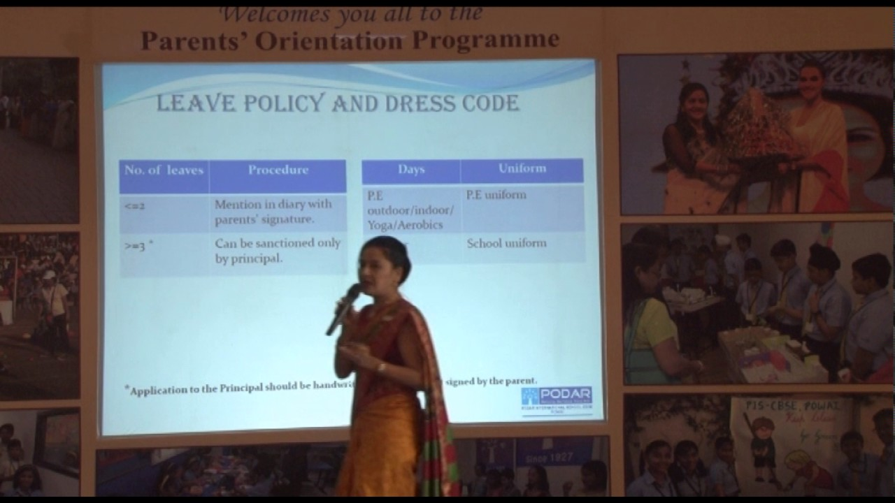 Parents orientation class 1 and 2 - 25 March 2017 - YouTube