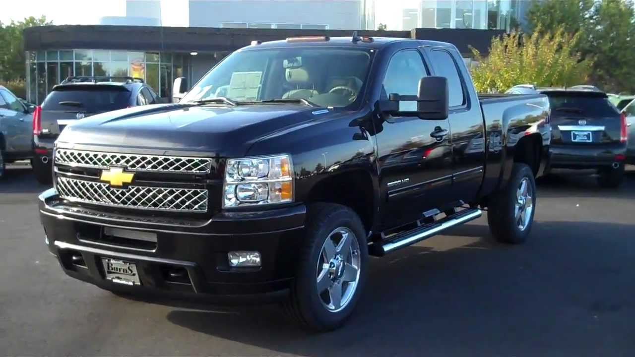 All Chevy 2013 chevy 2500hd ltz : 2013 Chevrolet Silverado Ext Cab 2500 LTZ Black, Burns Chevrolet ...