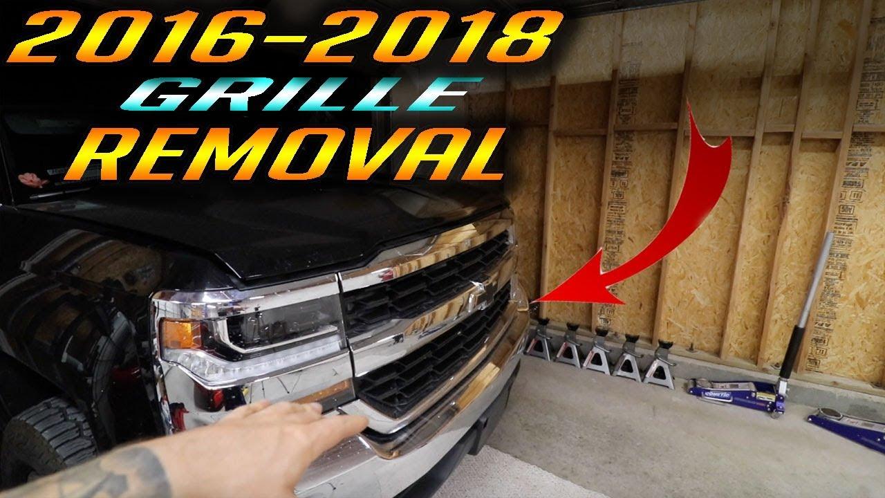 Download Chevrolet Silverado Grill Removal 2016 to 2018