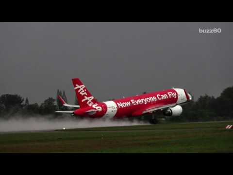 Pilot Error Causes AirAsia Flight to Land in Melbourne Instead of Malaysia