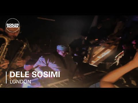 Dele Sosimi live in the Boiler Room