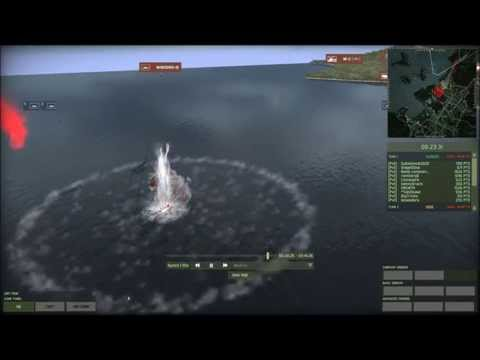 Wargame:Red Dragon - Ship missile kills 7 choppers + boat