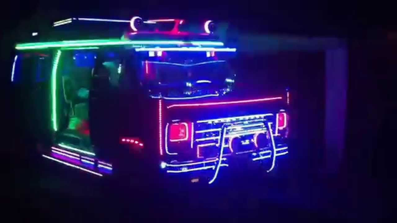 New Led Lights On The Illuminator Chevy Van All American
