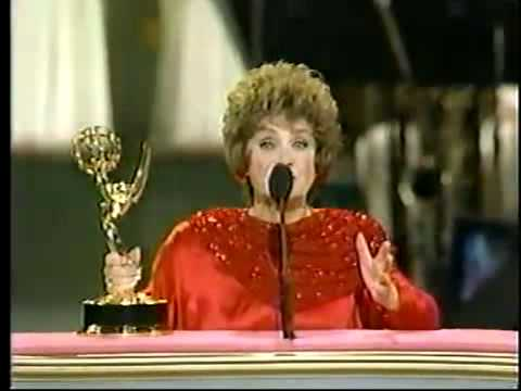 Estelle Getty @ The Emmy Awards 1988
