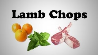 Lamb Chops With Orange And Mint Sauce