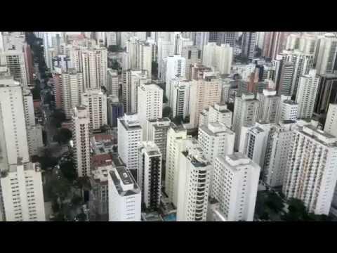 Brazil, Sao Paulo from the sky