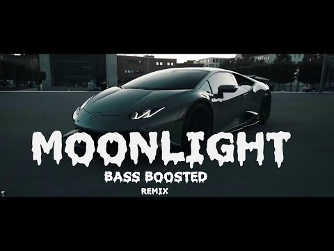 XXXTENTACION - Moonlight  [ Bass Boosted REMIX ]