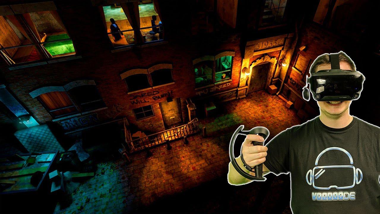 The VR thriller in a dark alley - Fire Escape [VR gameplay]