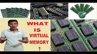 WHAT IS VIRTUAL MEMORY AND HOW TO INCREASE, UPGRADE IT.[HINDI]