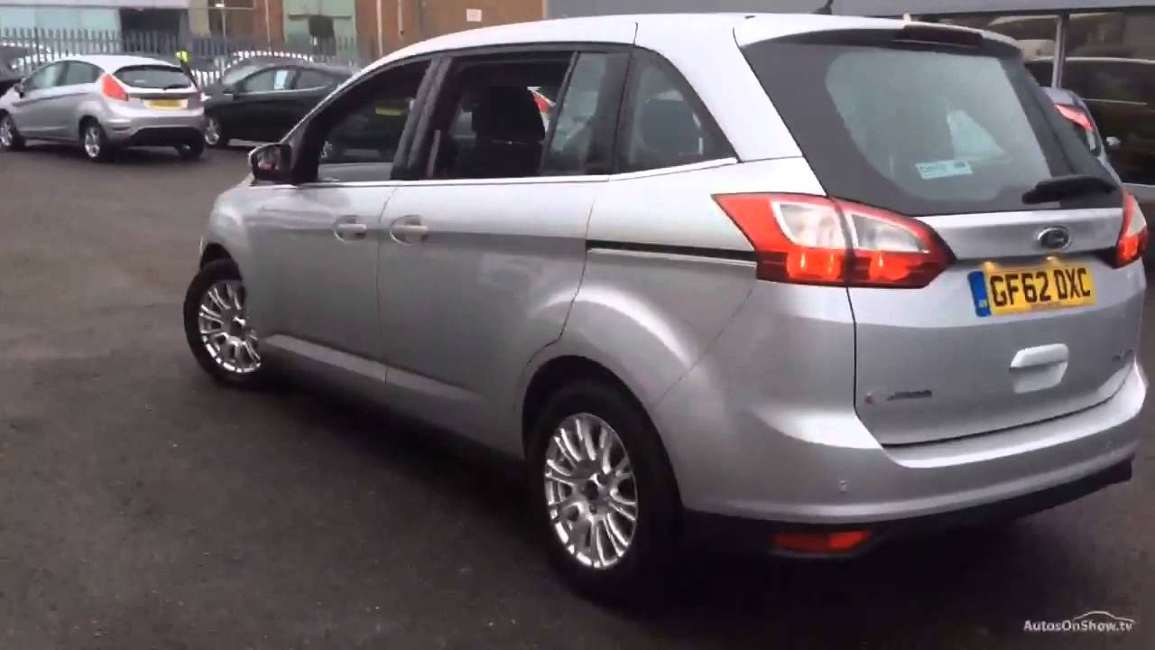 ford c max grand titanium tdci aluminium silver 2012 youtube. Black Bedroom Furniture Sets. Home Design Ideas
