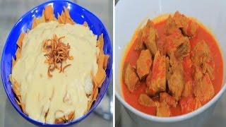 لحمة بالدمعة - فتة كشك - عصير تمر هندي   أميرة في المطبخ حلقة كاملة