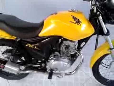 Resultado de imagem para moto fan amarela  150