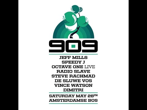 Vince Watson special 6 hour classics & Detroit mix @ 909 festival, Amsterdam (HD)