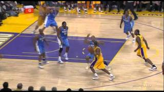 05 19 2009   WCF Game 1   Nuggets vs  Lakers   Kobe And 1 Jumper