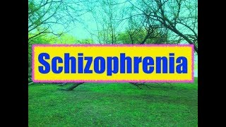 schizophrenia definition cause types clinical features treatment