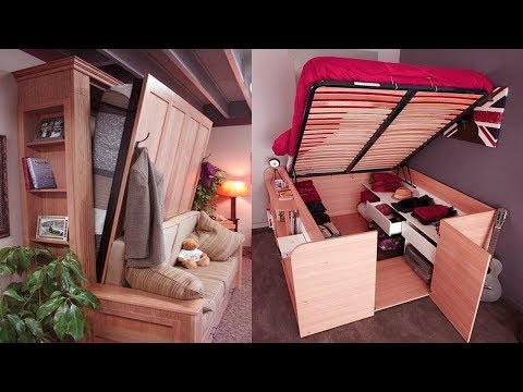 Clever Ideas To Save Space In Your Home - Space Saving Furniture For Small Flats