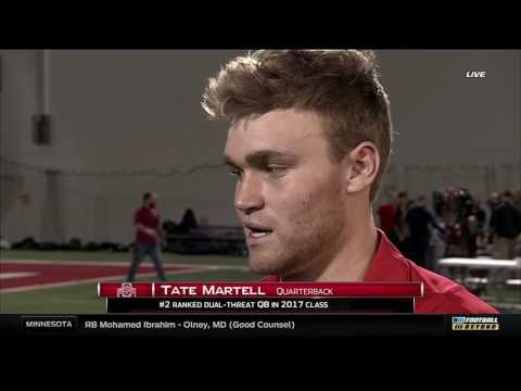 Tate Martell on Signing to Ohio State