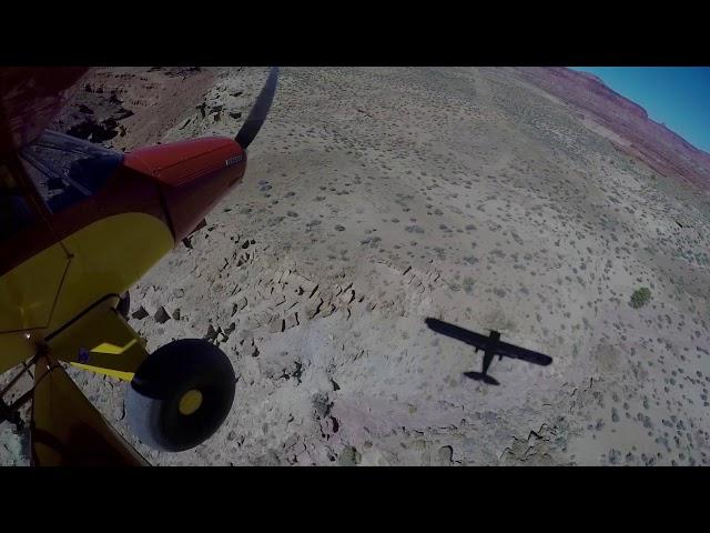 Utah Backcountry Flying 2017 Landing Poison Spings