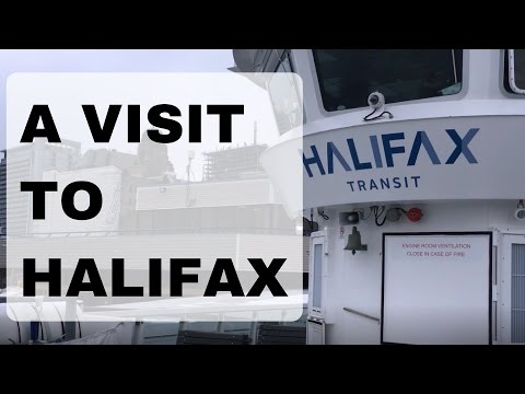 Uber Mark's Trip to Halifax, Nova Scotia Part 1