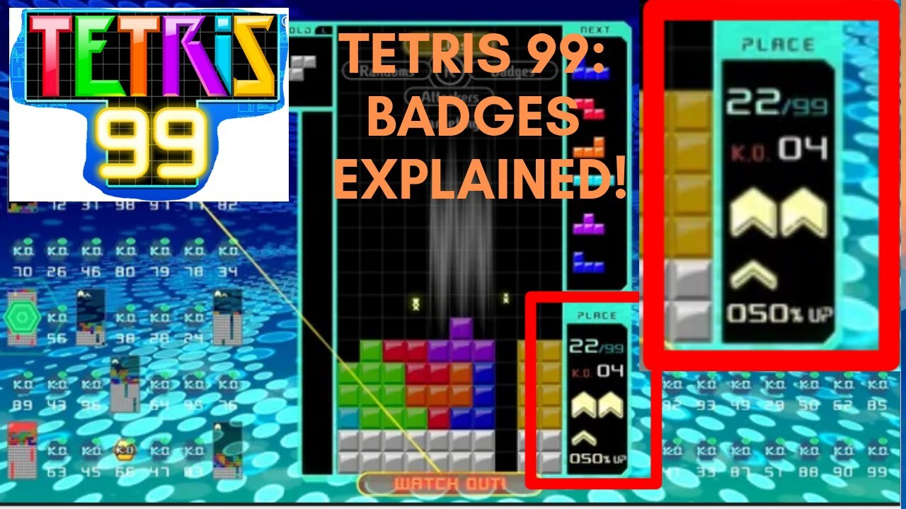 Tetris 99' How to Play: Rules, Switch Controls, Badges and