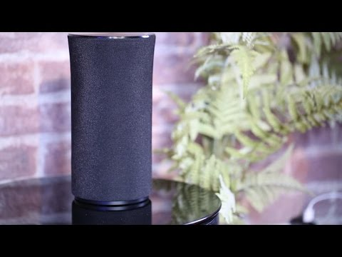 Samsung's cylindrical speaker turns on the performance