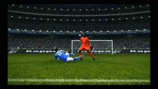 Borriello goal pes 2011 drakkar startimes