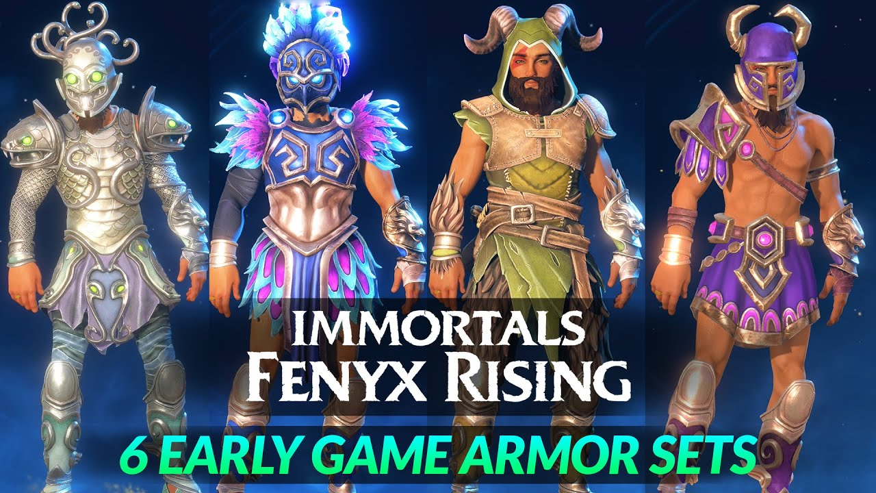 Best Gear in Immortals Fenyx Rising: the best early armor and ...