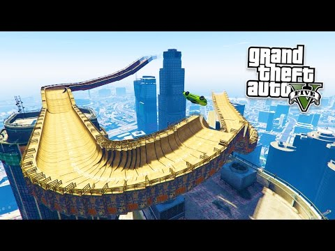 GTA 5 PC Mods - EXTREME RAMP STUNTS MOD! GTA 5 Extreme Ramp Mod Gameplay! (GTA 5 Mods Gameplay)