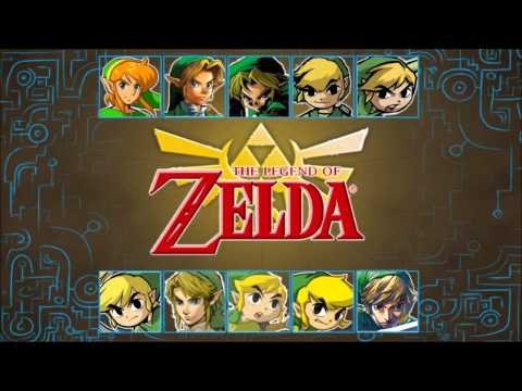 The Legend of Zelda - All Fairy Fountain Themes