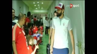شاهد.. كوميديا«باسم مرسي» لحظة دخول لاعبي الزمالك.. وسخرية مدحت شلبي منه