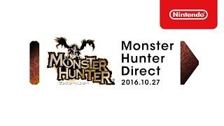 モンスターハンター Direct 2016.10.27 プレゼンテーション映像 thumbnail