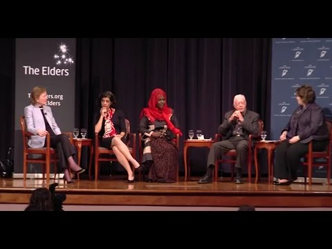 Building a lasting peace: where are the women?