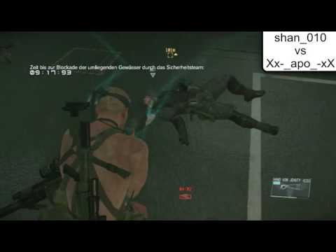 "MGSV FOB Security challenge Defense vs shan_010 ""Killjoy"""