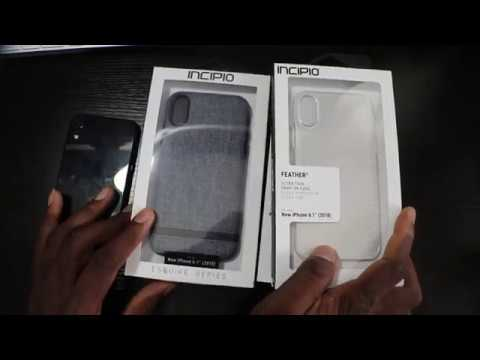 separation shoes 502c3 031eb iPhone XR | iNcipio Case Suite Unboxing & First Look