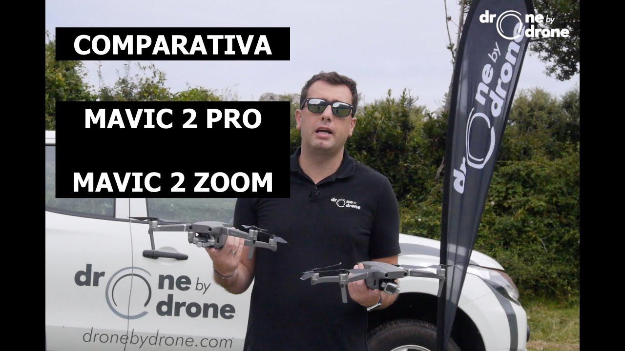 DJI Mavic 2 Pro y Zoom comparativa drones - YouTube