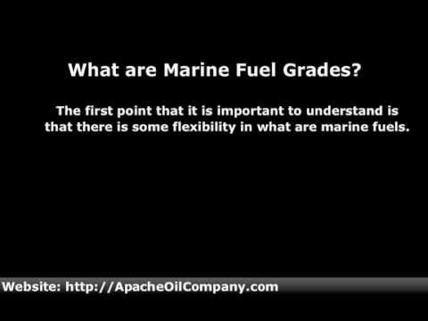 Marine Fuel Grades | Making Choices Based On Marine Fuel Grades