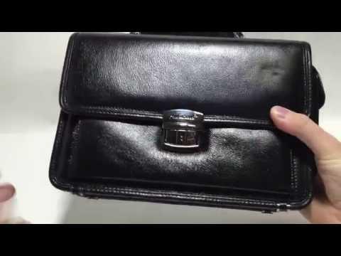 Кожаная мужская сумка, посылка №361 (AliExpress)
