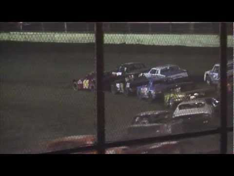 Kankakee County Speedway (8/24/12) UMP Street Stock A-Main