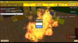 ROBLOX - Tix Factory Tycoon CODES!!!