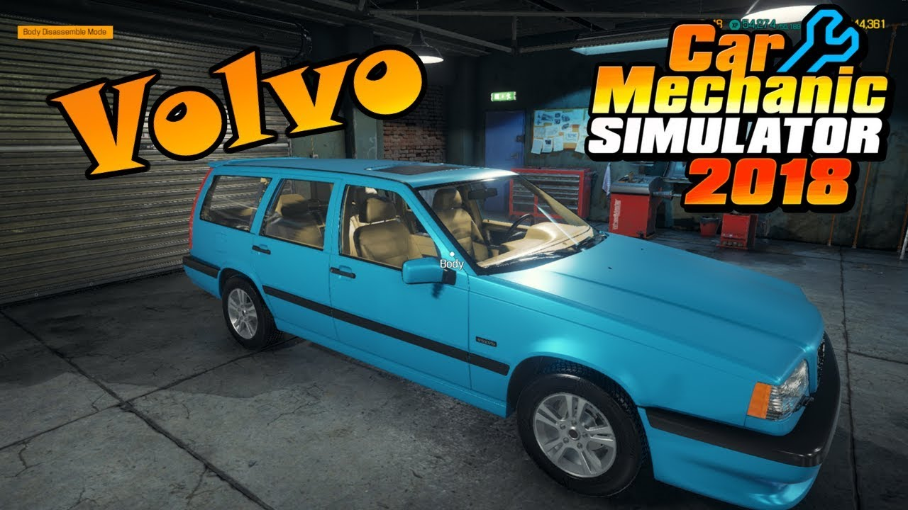 Volvo 850r Car Mechanic Simulator 2018 Mods Review Youtube