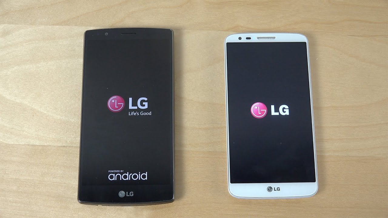 LG G4 vs  LG G2 Official Android 5 0 Lollipop - Which Is Faster? (4K)