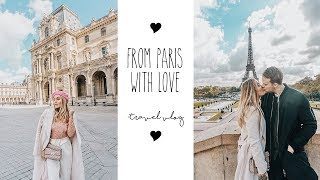 "Traveling to ""The city of love"" - PARIS VLOG!!"