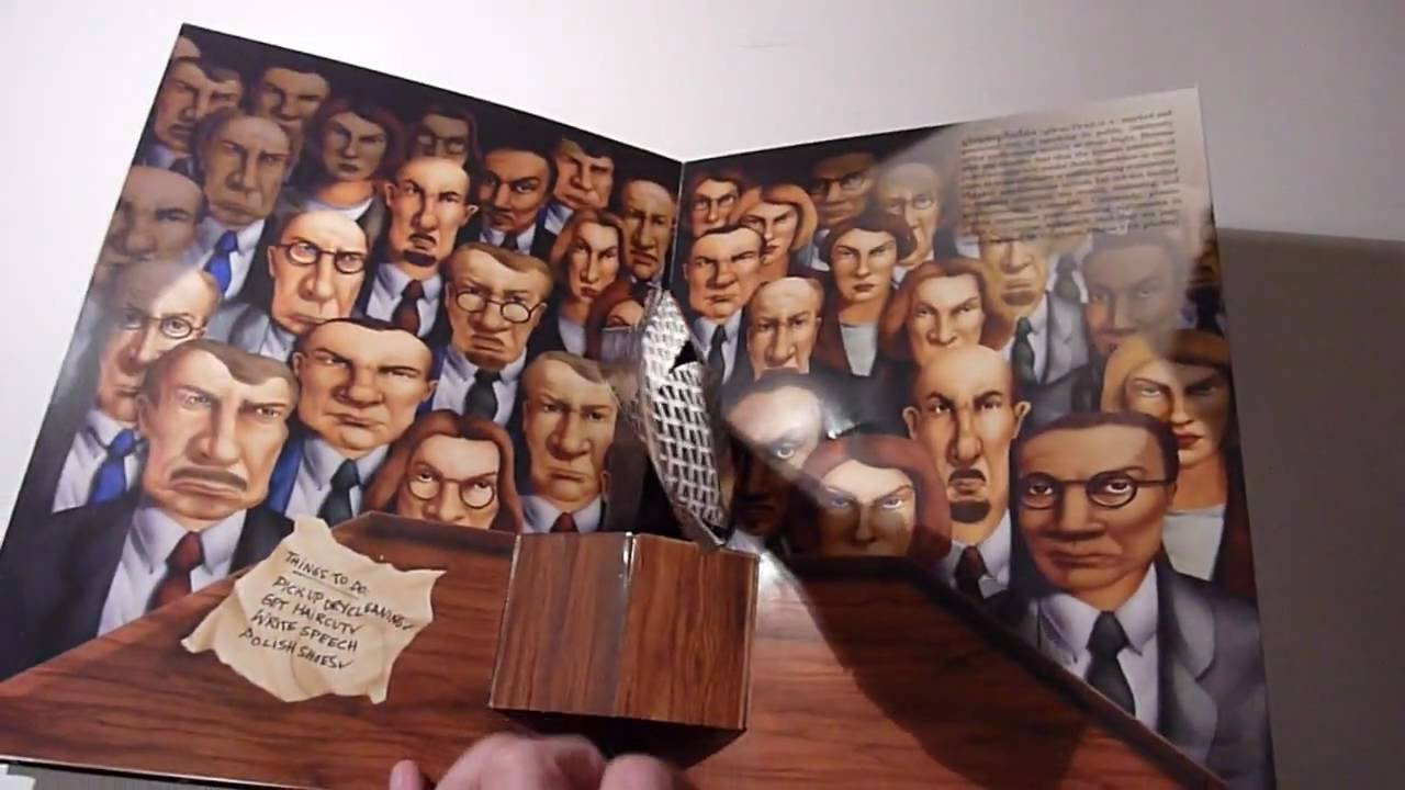 The pop-up book of phobias - YouTube