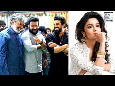 Alia Bhatt, Ajay Devgn join RRR team to introduce Jr NTR's character, Bheem