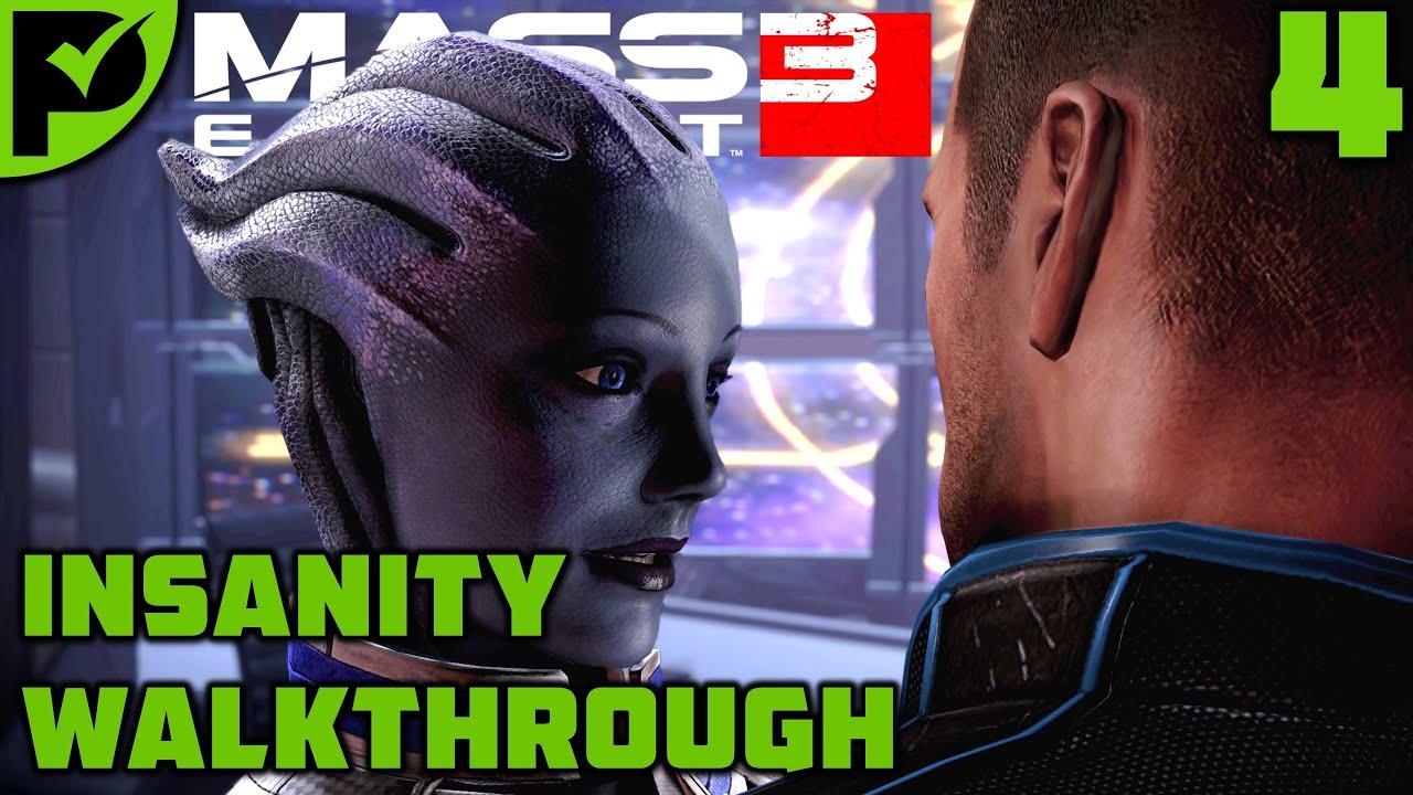 A Hint of Romance & A Cerberus Lab - Mass Effect 3 Insanity Walkthrough Ep. 4 [Legendary Edition]