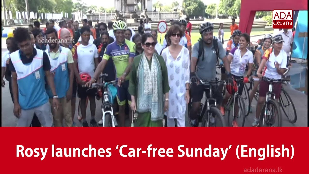 Car Free Zone Was Launched To Allow People Have Fun In Colombo Rosy