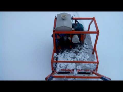 Как сделать мотособаку из бензопилы