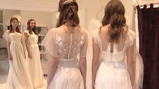 Идеальный гардероб для невесты: декор в виде кристаллов «Swarovski» и бисера, кружево-макраме