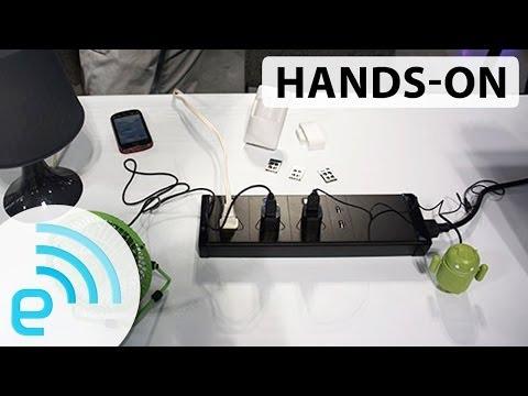 Smart Powerstrip hands-on | Engadget