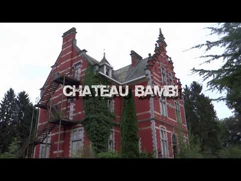 URBEX Belgium Abandoned Chateau Bambi / Chateau rouge near Tihange october 2015